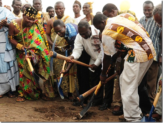 Breaking Ground for Ashesi