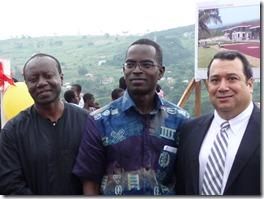 Ken Ofori-Atta, Patrick, US Ambassador Donald Tetelbaum
